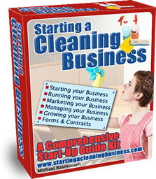 The Starting a Cleaning Business Start-Up Guide Kit